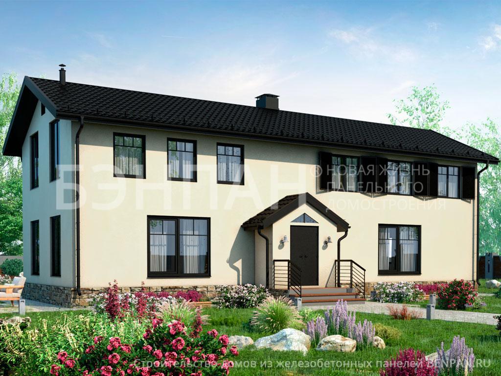 Строительство дома 175.10 м2 по цене от 2913689.49 рублей на апрель 2019 года