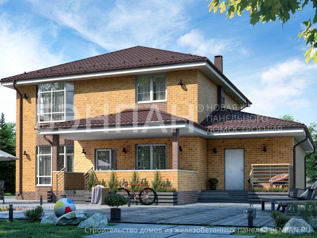 Строительство дома 237.60 м2 по цене от 3618426.64 рублей на июль 2019 года