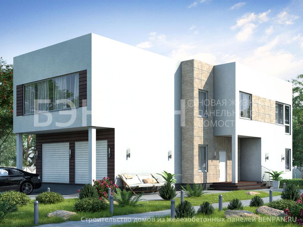 Строительство дома 163.50 м2 по цене от 4621866.72 рублей на апрель 2019 года