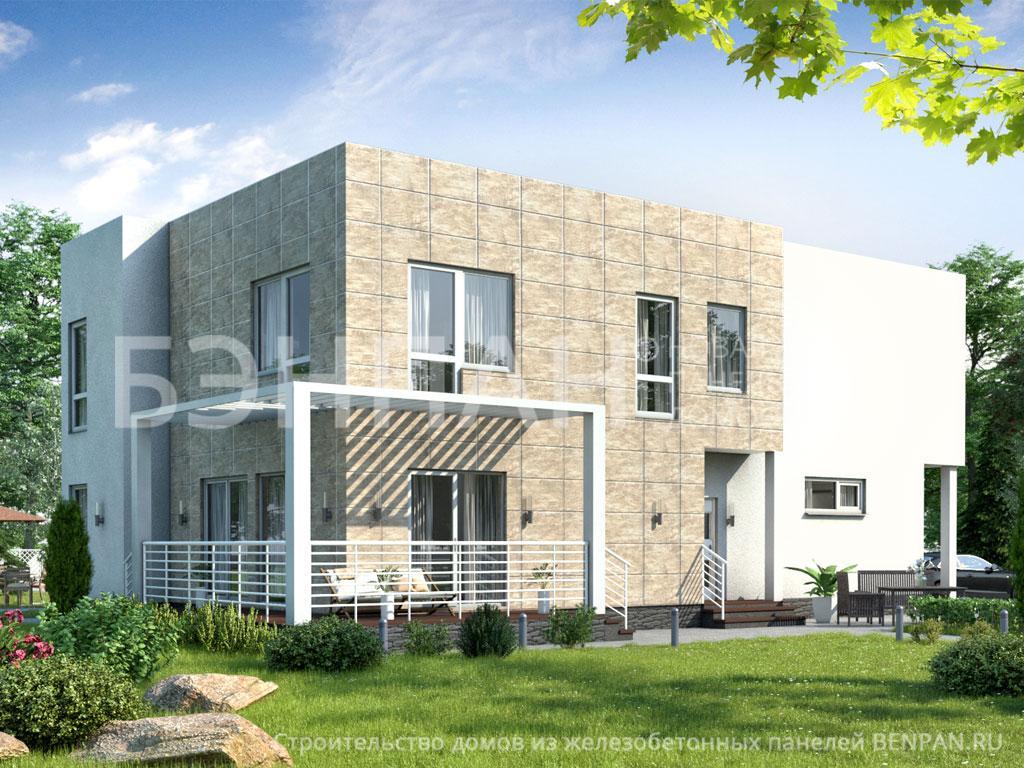 Фото дома МС-263 163.50м2, этажа 2, комнаты 5, проект для загородного дома