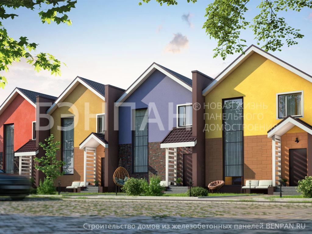 Строительство дома 416.90 м2 по цене от 3941065.5 рублей на апрель 2019 года