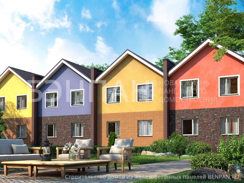 Фото дома МС-425 416.90м2, этажа 2, комнаты 16, проект для загородного дома