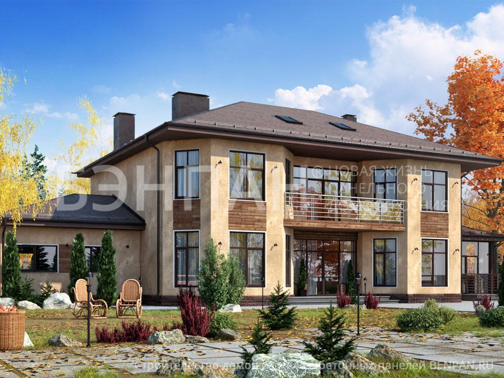 Строительство дома 468.20 м2 по цене от 6541788.62 рублей на март 2019 года