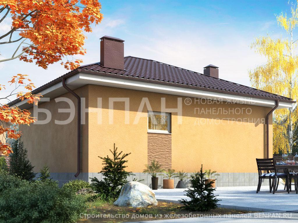 Фото дома Баня МС-64 61.90м2, этажа 1, комнаты 1, проект для загородного дома