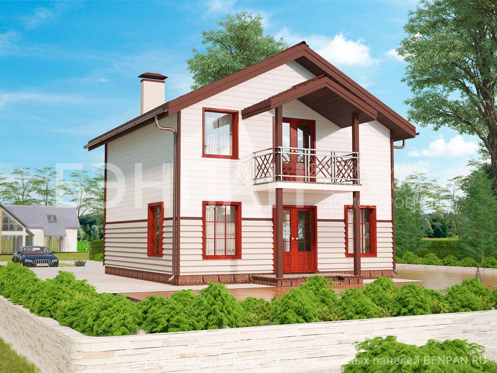 Строительство дома 99.80 м2 по цене от 1779237.73 рублей на февраль 2019 года