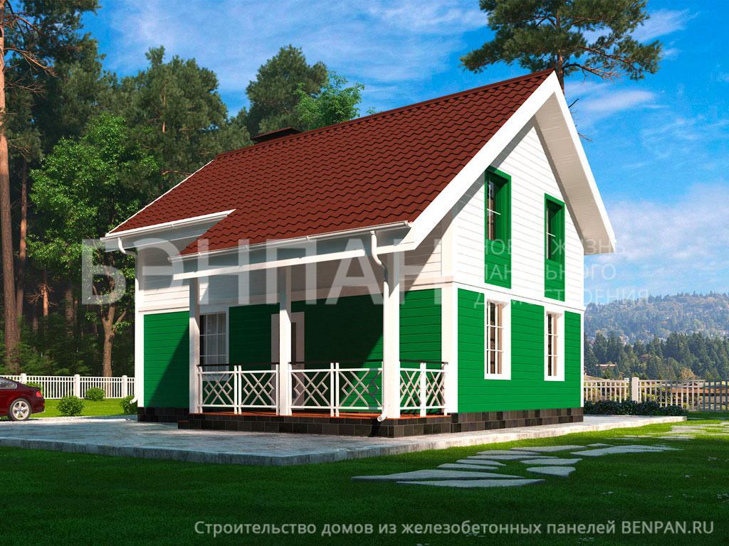 Строительство дома 108.10 м2 по цене от 2171158.52 рублей на февраль 2019 года