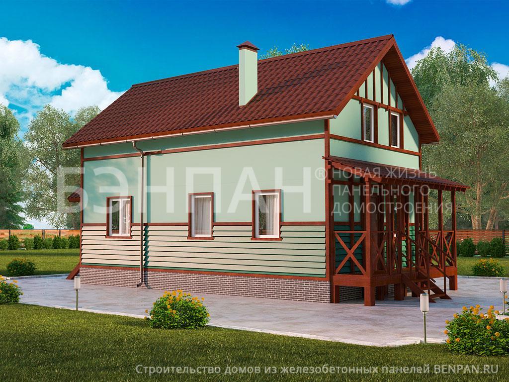 Строительство дома 108.98 м2 по цене от 2000527.81 рублей на август 2019 года
