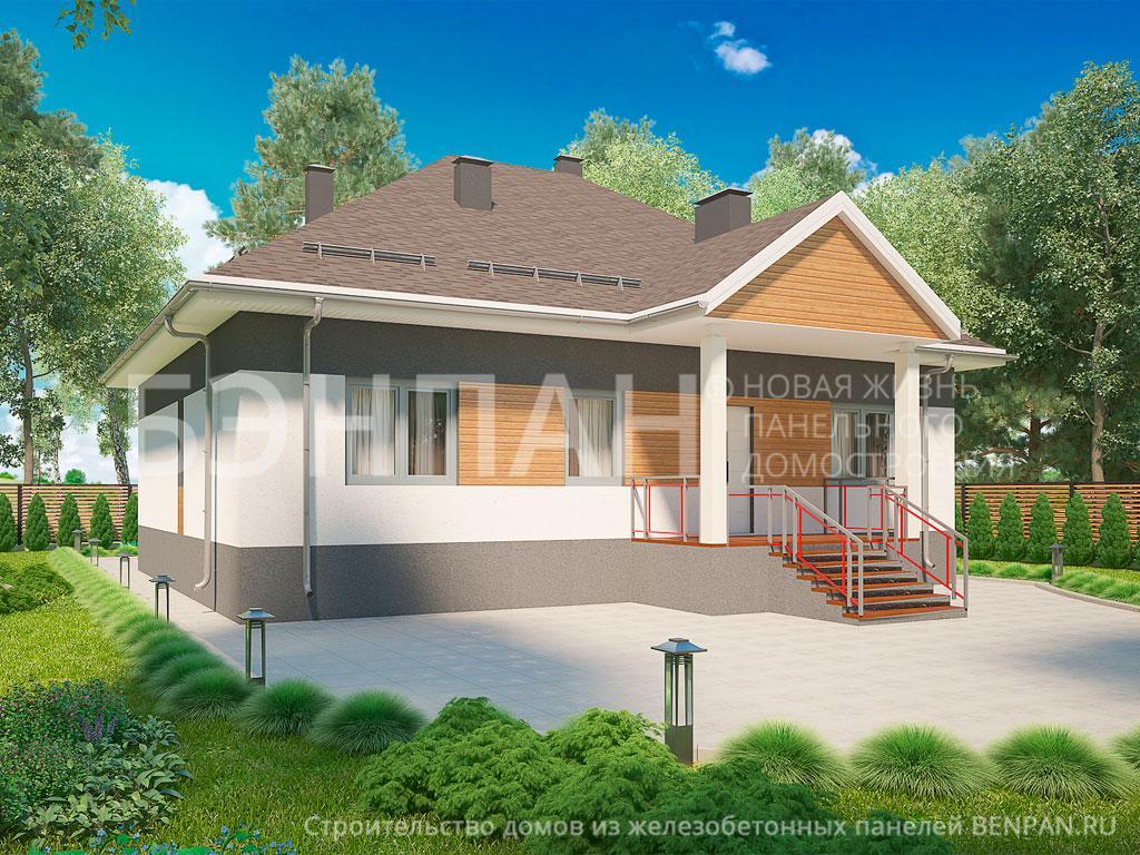 Строительство дома 114.90 м2 по цене от 2793946.034 рублей на январь 2019 года