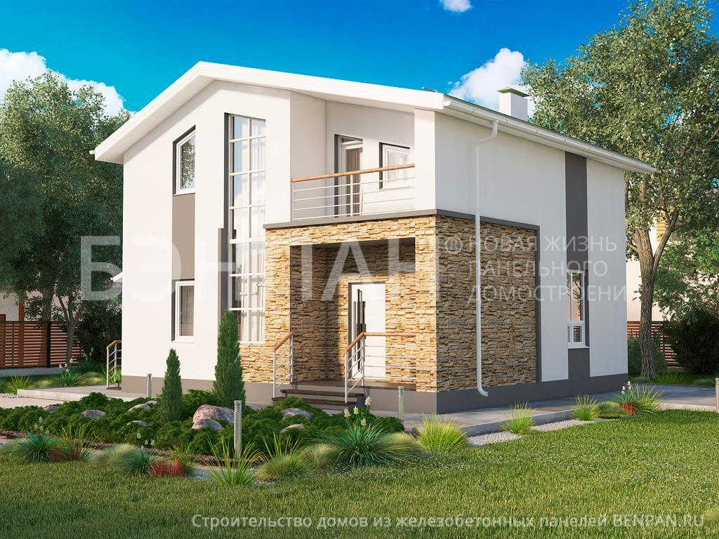 Строительство дома 118.50 м2 по цене от 2403319.22 рублей на февраль 2019 года