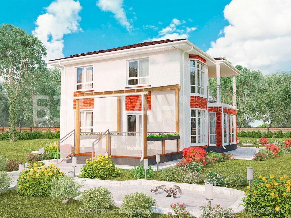 Фото дома МС-160/1/К 140.10м2, этажа 2, комнаты 5, проект для загородного дома
