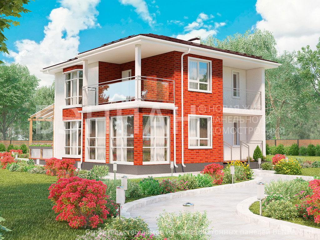 Строительство дома 140.10 м2 по цене от 2949887.18 рублей на февраль 2019 года