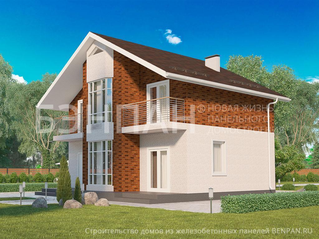 Строительство дома 138.50 м2 по цене от 2432217.029 рублей на январь 2019 года