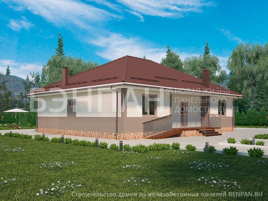 Строительство дома 177.90 м2 по цене от 2143952.76 рублей на август 2019 года