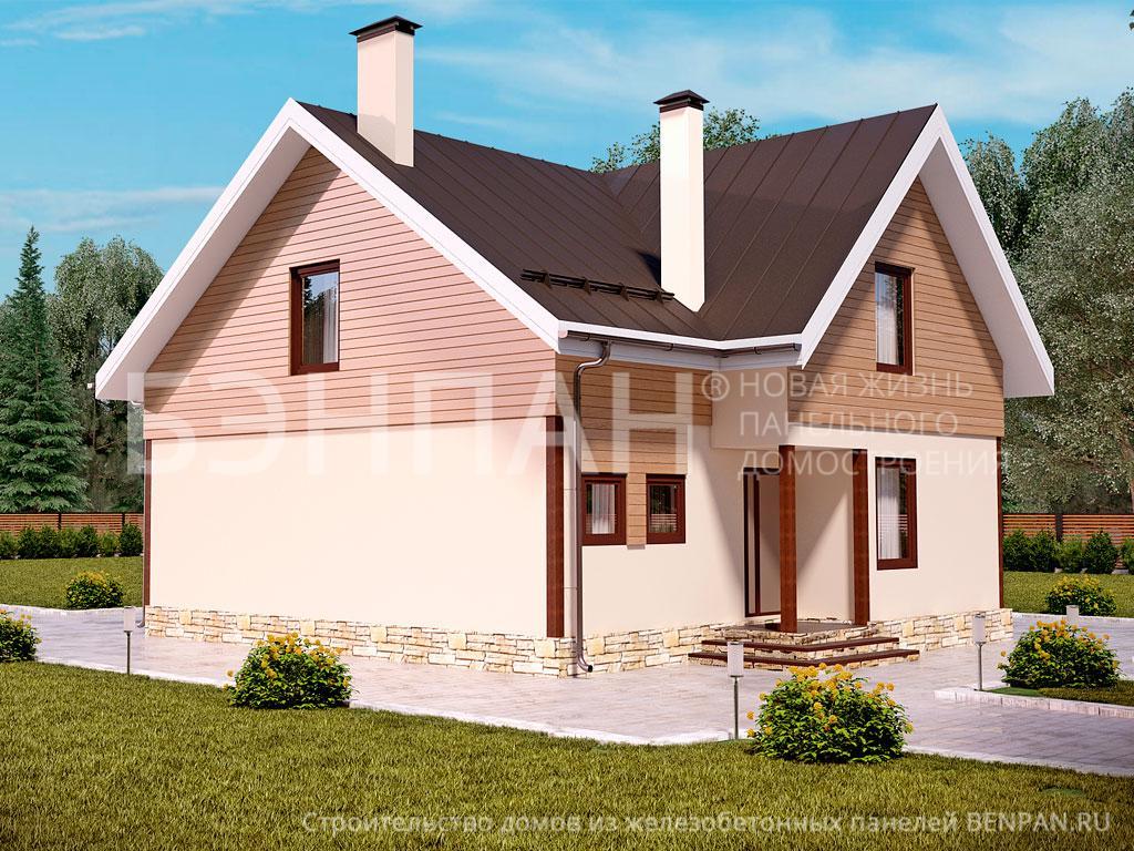 Строительство дома 180.00 м2 по цене от 2429112 рублей на июнь 2019 года