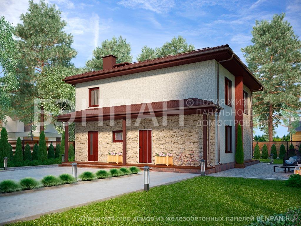 Строительство дома 184.10 м2 по цене от 2872154.67 рублей на февраль 2019 года