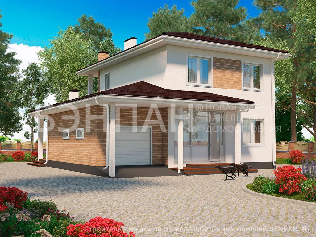 Строительство дома 166.20 м2 по цене от 3114458.7 рублей на июль 2019 года