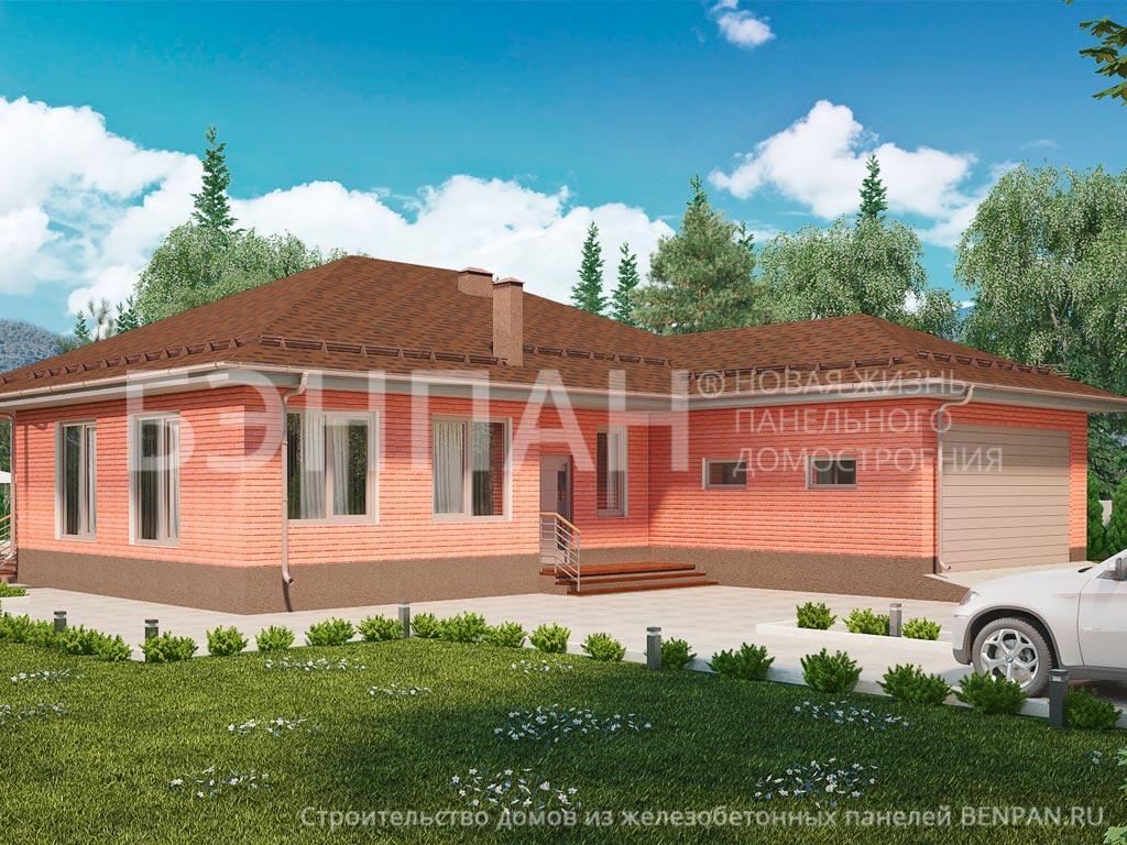 Строительство дома 210.20 м2 по цене от 2827815.34 рублей на февраль 2019 года
