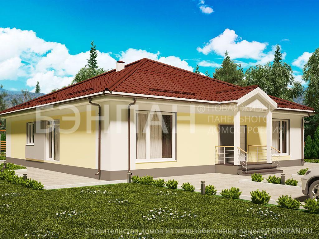 Строительство дома 210.10 м2 по цене от 2285578.58 рублей на февраль 2019 года