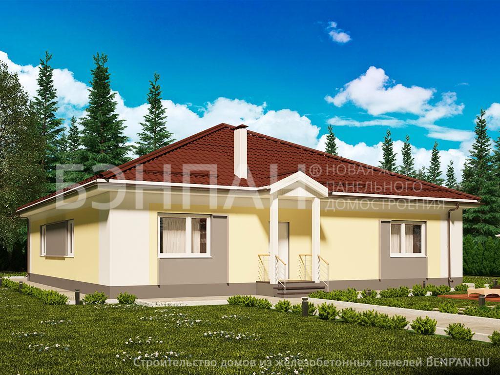 Фото дома МС-213 210.10м2, этажа 1, комнаты 6, проект для загородного дома
