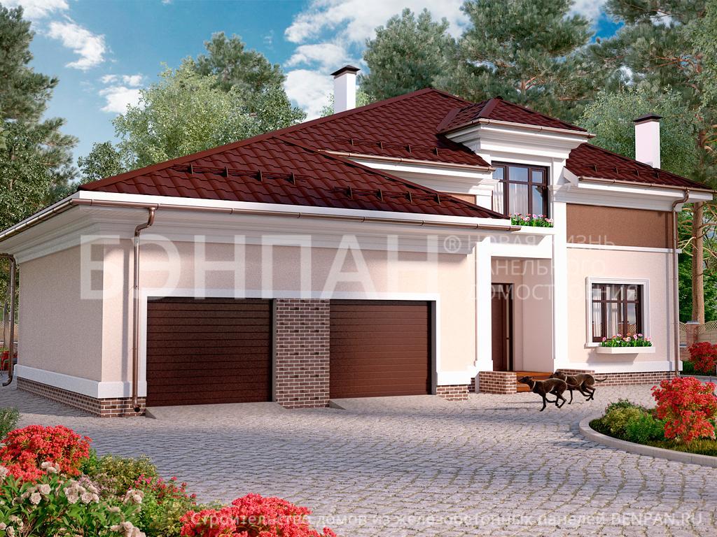 Строительство дома 185.20 м2 по цене от 4094635.622 рублей на январь 2019 года