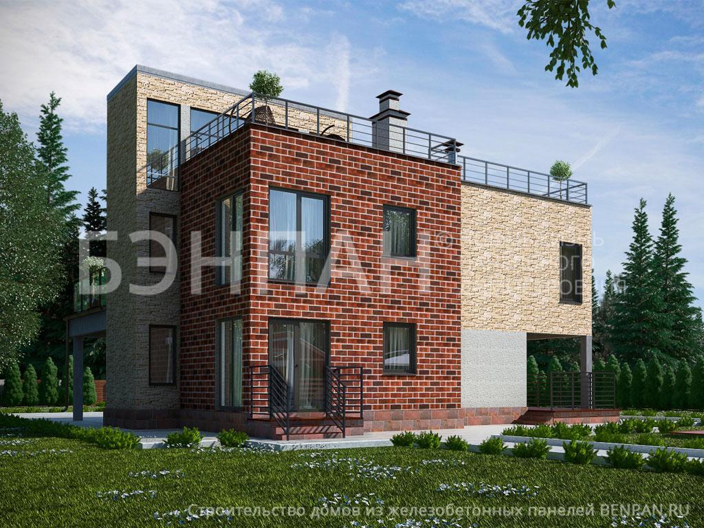 Строительство дома 248.30 м2 по цене от 4398844.1 рублей на август 2019 года