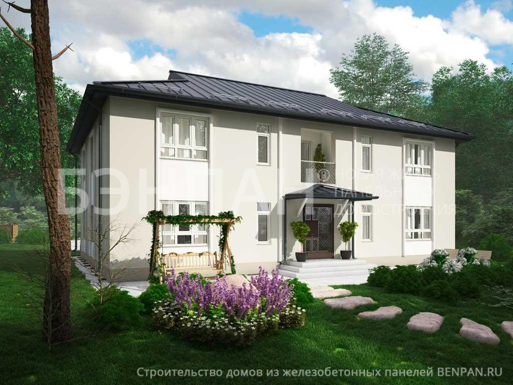 Строительство дома 342.14 м2 по цене от 5801256.42 рублей на август 2019 года