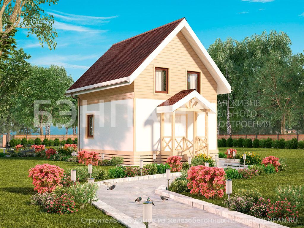 Строительство дома 89.20 м2 по цене от 2154934.65 рублей на февраль 2019 года
